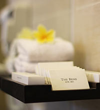 Bathroom amenities - The Bene Hotel