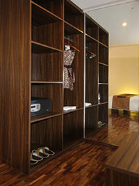Wardrobe at Royal Suite - The Bene Hotel