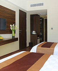 Twin bedroom - The Bene Hotel