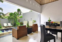 One Bedroom Villa living area - The Seminyak Suite