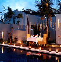 Romantic dinner - The Seminyak Suite