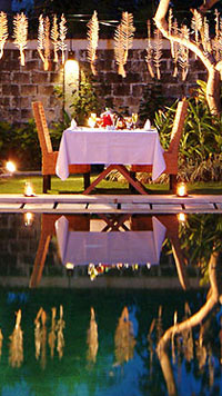 Romantic dinner - Villa Seminyak Estate & Spa